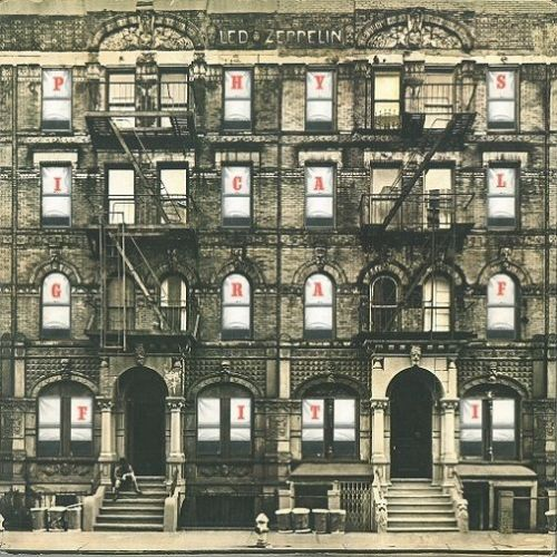 LED ZEPPELIN Physical Graffiti Vinyl Record LP Swan Song 1975
